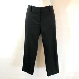 NWT Ann Taylor 6 Black Crops Pants NEW